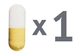 1 капсула флюкостата