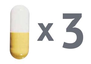 3 капсулы флюкостата