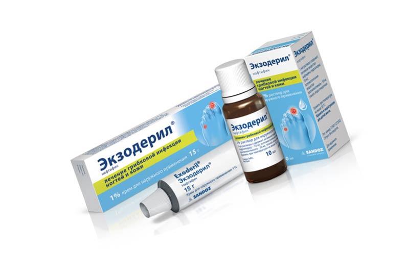 Мазь Экзодерил: от чего помогает раствор, капли и гель – противопоказания и инструкция по применению для кожи