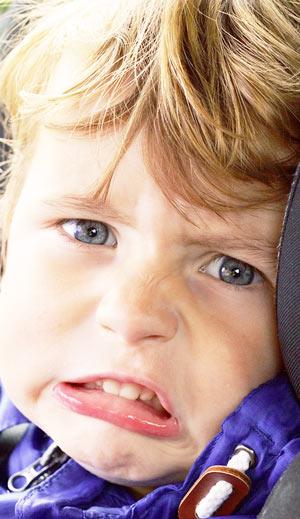 Причины запора у детей