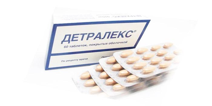Таблетки от варикоза Детралекс