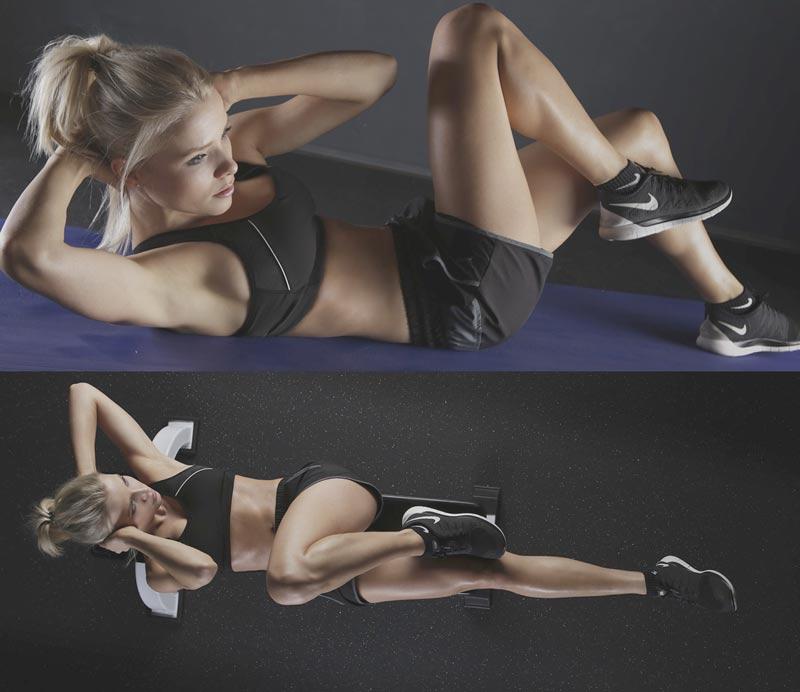 Фото: Упражнения вечером для похудения боков и живота