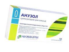 Свечи от геморроя Анузол: инструкция по применению препарата и отзывы