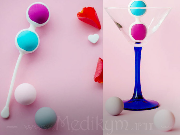Упражнения Кегеля с шариками