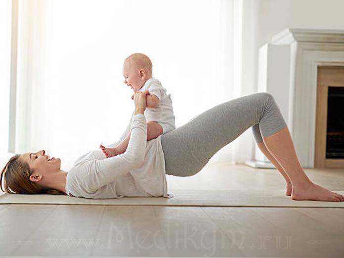 Фото: Упражнения Кегеля после родов